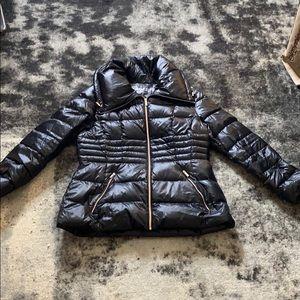 Karl Lagerfeld Black Puffer Jacket